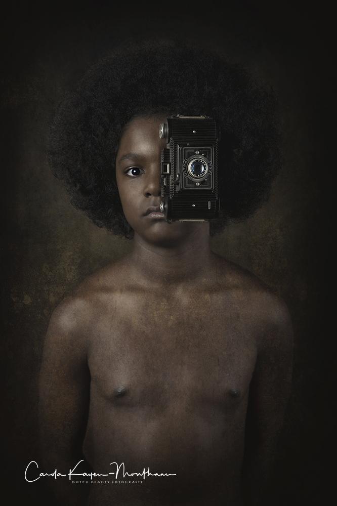 Camera eye art