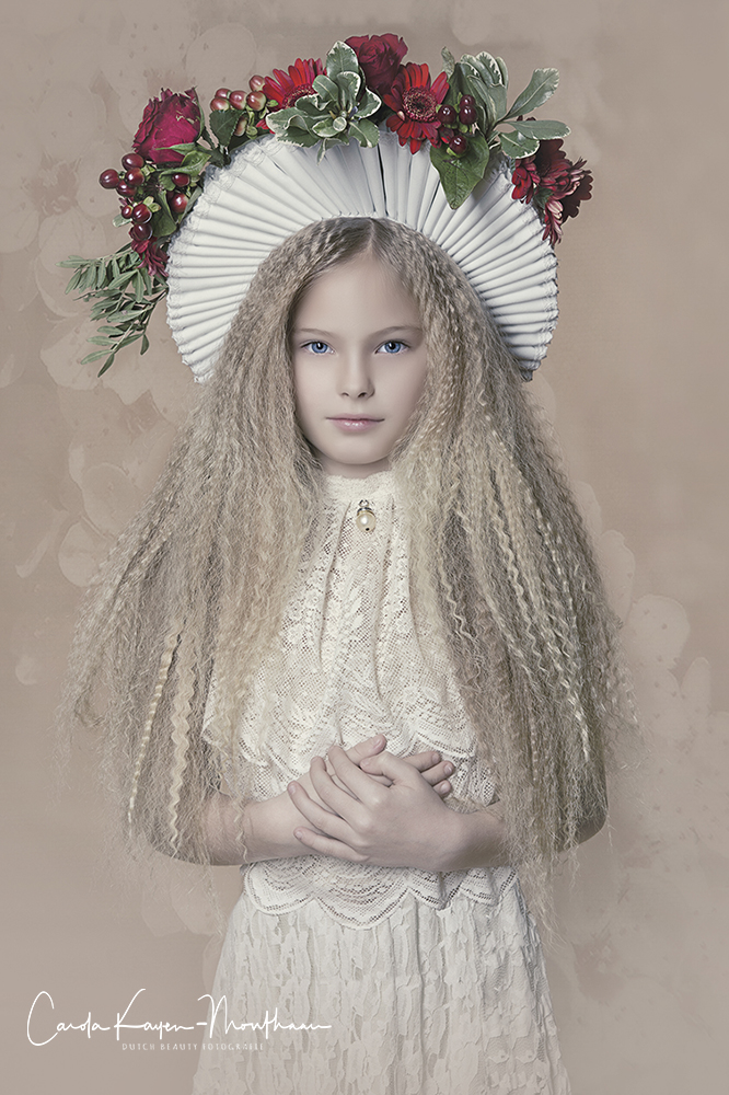 Flower girl art
