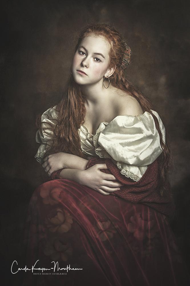 Gypsy girl art