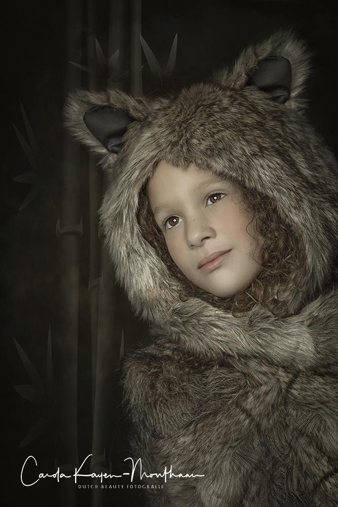 Little Teddy Bear art