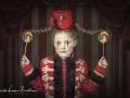 Little circus girl art
