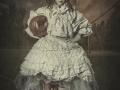 Little soccer girl art