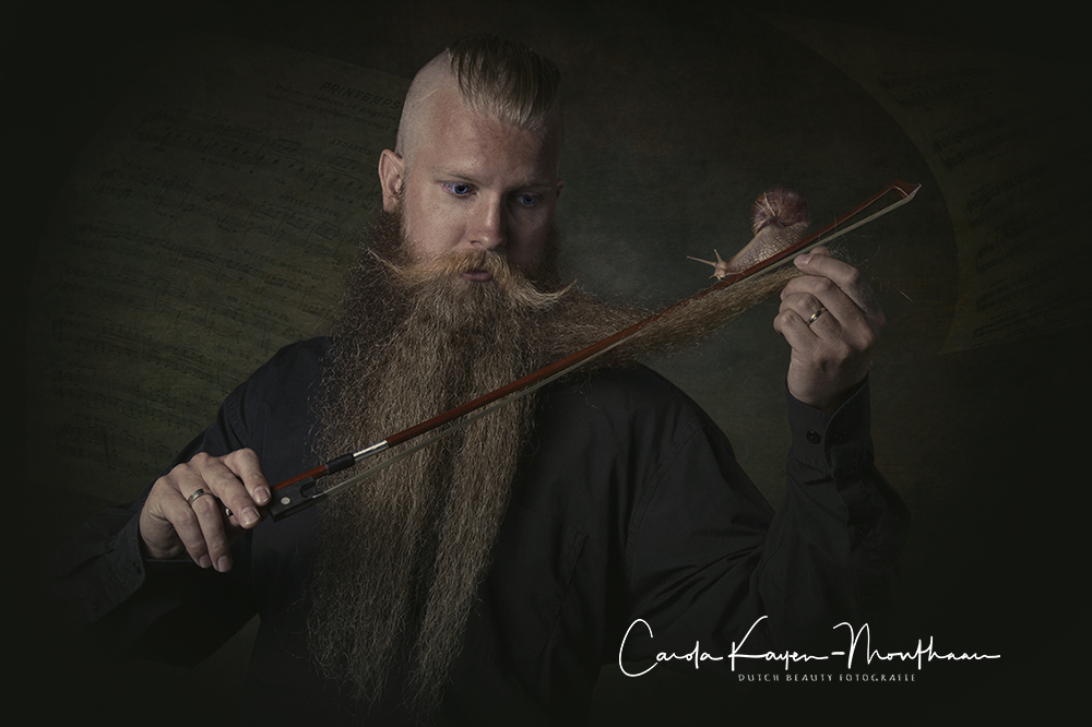 My violin beard