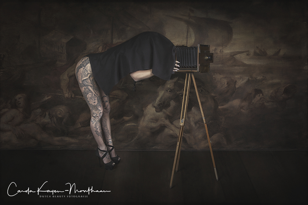 Tattooed Photographer art