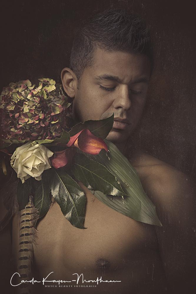art flower by