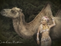 Camel lady art