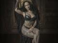 The Tattoed Lady art