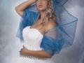 lady in bleu art